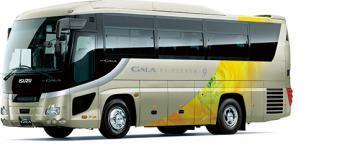 Isuzu Gala HD9 9m tourist coach