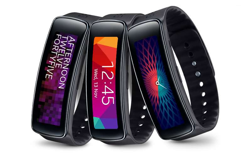 Samsung Galaxy Gear Fit smartwatch