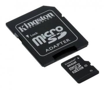 Kingston MicroSD Card Class10 16GB