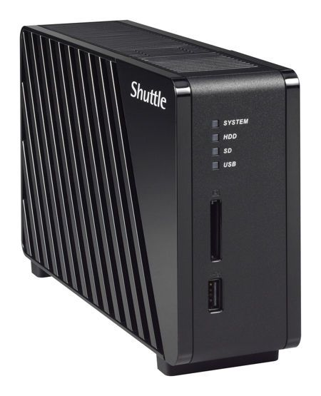 Shuttle OMNINAS KS10 1-bay NAS
