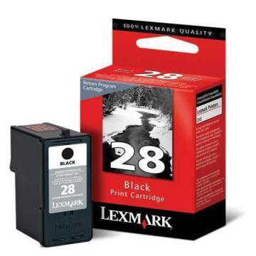 Lexmark #28 Black Ink Cartridge