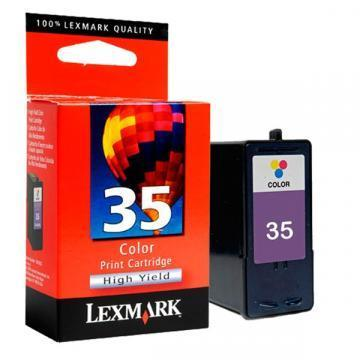Lexmark #35 Color High Yield Ink Cartridge