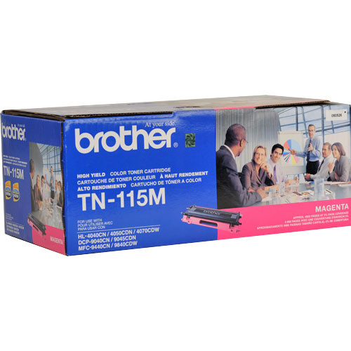 Brother TN115M High Yield Magenta Toner