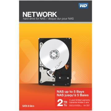 WD Network 2TB SATA IntelliPower NAS Drive