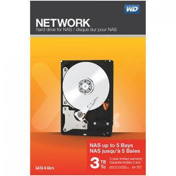 WD Network 3TB SATA IntelliPower NAS Drive
