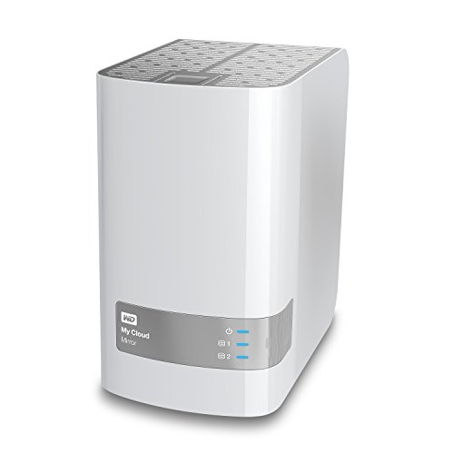 WD 10TB My Cloud Mirror Personal Storage