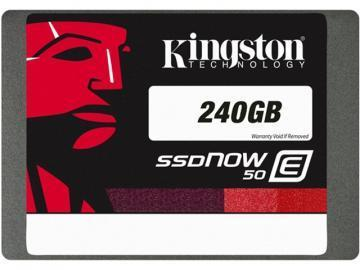 Kingston 240GB SSDNow E50 SSD SATA
