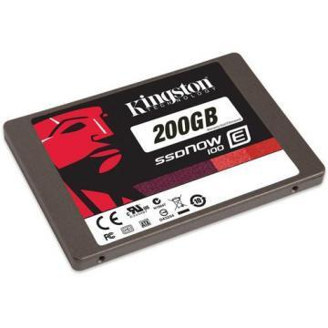 Kingston 200GB SSDNow E100 SSD SATA