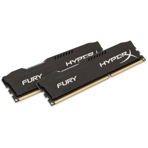 Kingston 16GB (2x8GB) 1600MHz HyperX Fury Black