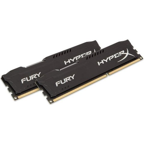 Kingston 8GB (2x4GB) 1600MHz HyperX Fury Black