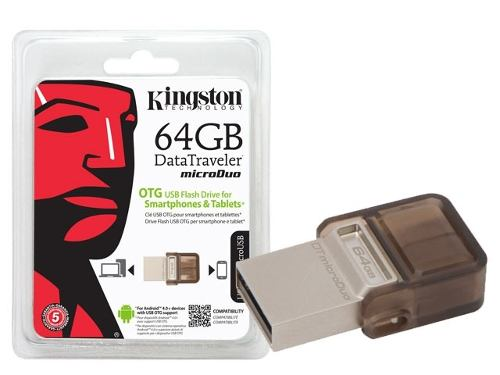 Kingston 64GB DataTraveler microDuo Flash Drive