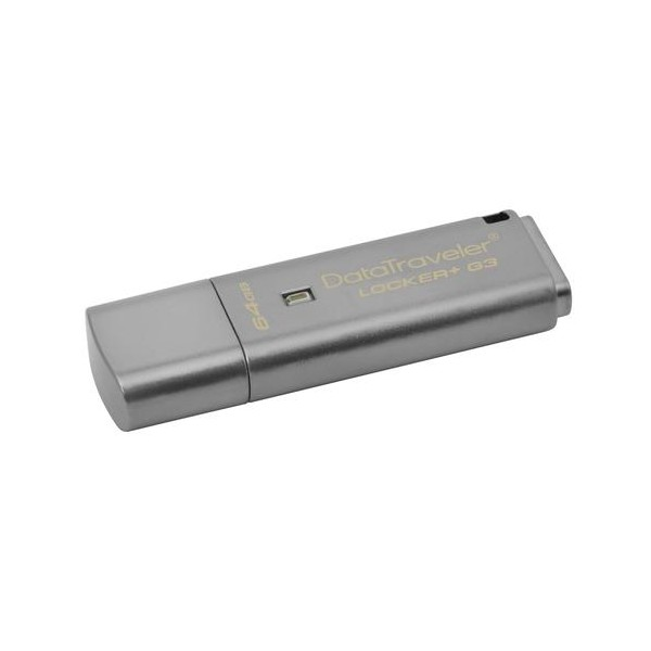 Kingston 64GB DataTraveler Locker+ G3