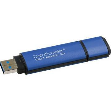 Kingston 64GB DataTraveler Vault Flash Drive