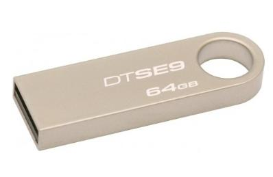 Kingston 64GB Datatraveler Flash Drive  SE9