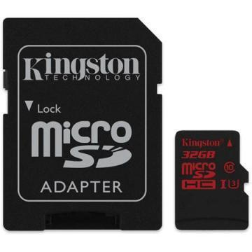 Kingston 32GB microSDHC CL3 U3