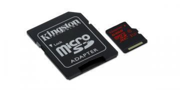 Kingston 64GB microSDHC CL3 U3