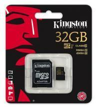 Kingston 32GB Microsdxc CL10 UHS-I