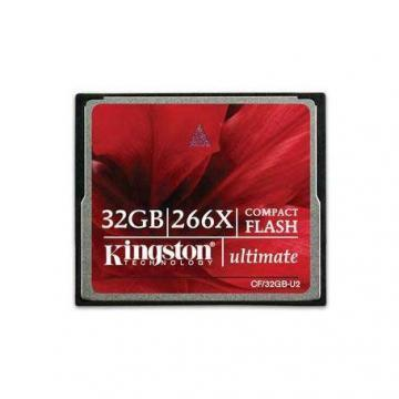 Kingston 32GB Ultimate CompactFlash 266X
