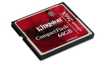 Kingston 64GB Ultimate CompactFlash 266X