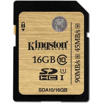 Kingston 16GB SDXC Class 10 UHS-1 Ultimate