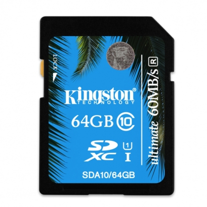 Kingston 64GB SDXC Class 10 UHS-1 Ultimate