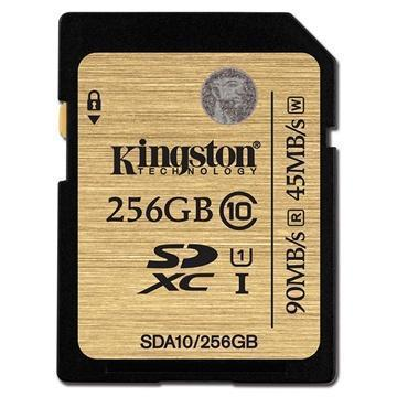 Kingston 256GB SDXC Class 10 UHS-1 Ultimate