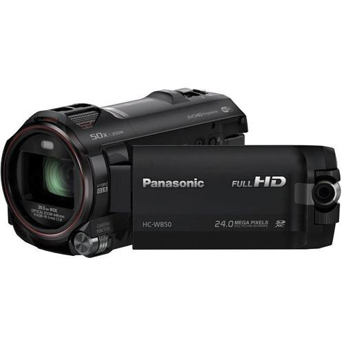 Panasonic HC-W850K Twin Recording HD Camcorder