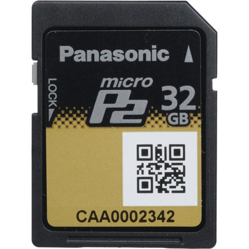 Panasonic 32GB Micro P2 Memory Card