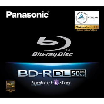 Panasonic Blu-ray Disc 50GB Write Once 6x Speed
