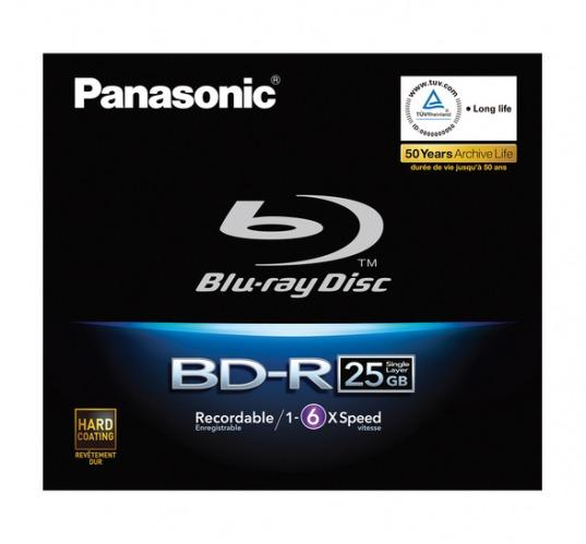 Panasonic Blu-ray Disc 25GB Write Once 6x Speed
