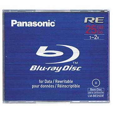 Panasonic Blu-ray Disc 25GB Rewritable 2x Speed