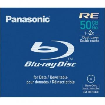 Panasonic Blu-ray Disc 50GB Rewritable 2x Speed