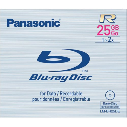 Panasonic Blu-ray Disc 25GB Write Once 2x Speed