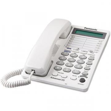 Panasonic KX-TS208W Corded Integrated Telephone