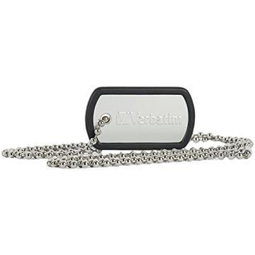 Verbatim 8GB Dog Tag USB Flash Drive