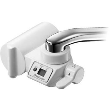 Verbatim Water Filtration Faucet Mount with LCD