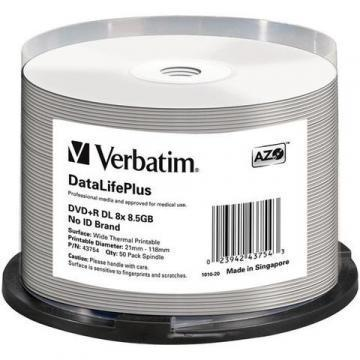 Verbatim DataLifePlus 8.50GB DVD Spindle 50-Pack