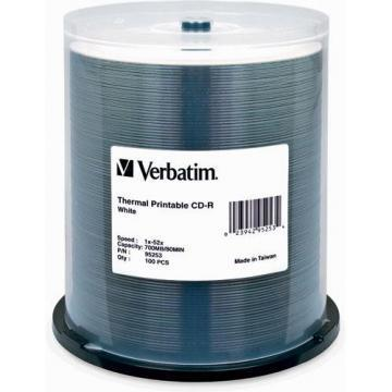 Verbatim 100-pack CDR 80MIN 700MB  Spindle