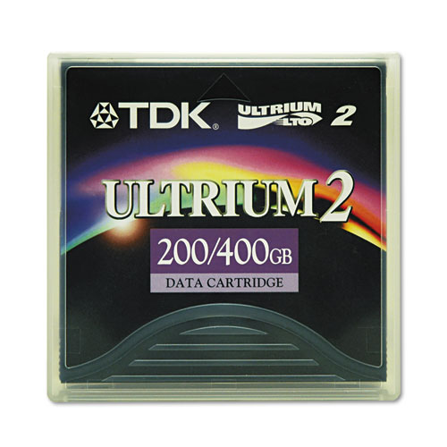 TDK LTO Ultrium 2 200GB/400GB Data Cartridge