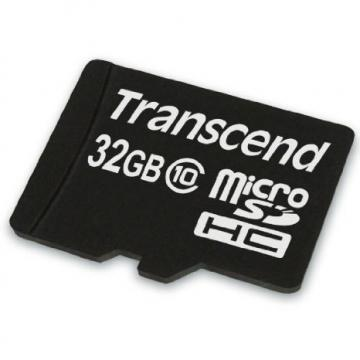 Transcend 32GB microSHDC Flash Card