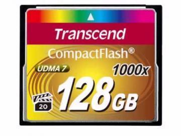 Transcend Ultimate 128GB 1000x CompactFlash