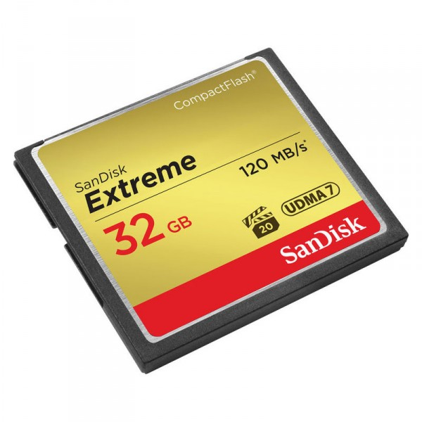 SanDisk 32GB Extreme CompactFlash Card