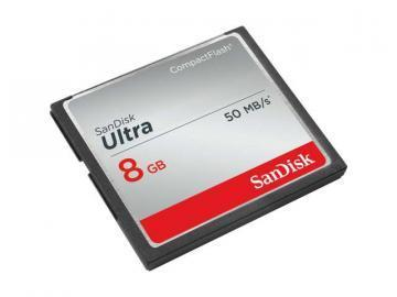 SanDisk 8GB Ultra Compact Flash Card
