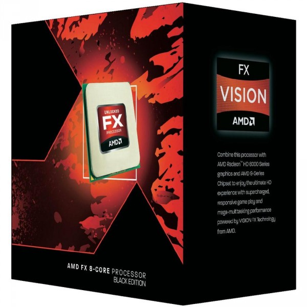 AMD FX-8350 8 Core 4.0/4.2 GHz Processor AM3+