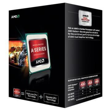 AMD A10 5800K Black Edition Quad Core APU 4.2GHZ Processor