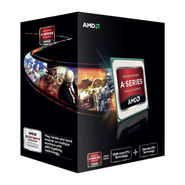 AMD A8 5600K Black Edition Quad Core APU 3.9GHZ Processor