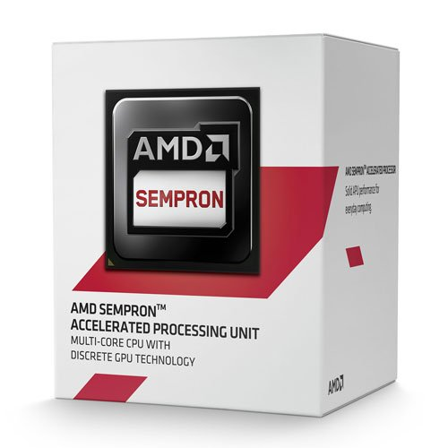 AMD Sempron 3850 Quad Core APU 1.3GHZ Processor AM1