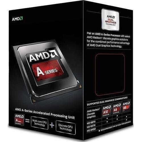 AMD A6 6420K Black Edition Dual Core APU 4.2GHZ Processor