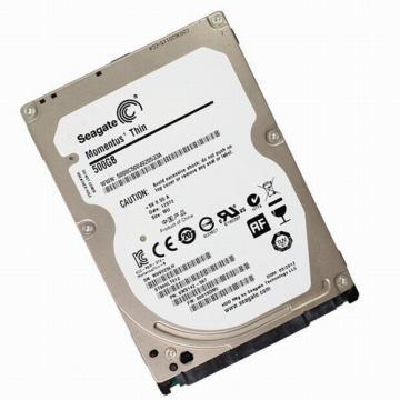 "Seagate 500GB Momentus Thin 2.5"" SATA 5400 HDD"