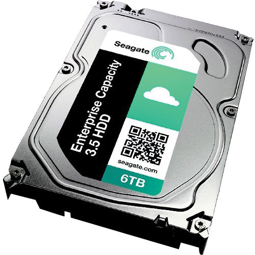 "Seagate 6TB Enterprise Capacity 3.5"" 7200 SAS HDD"